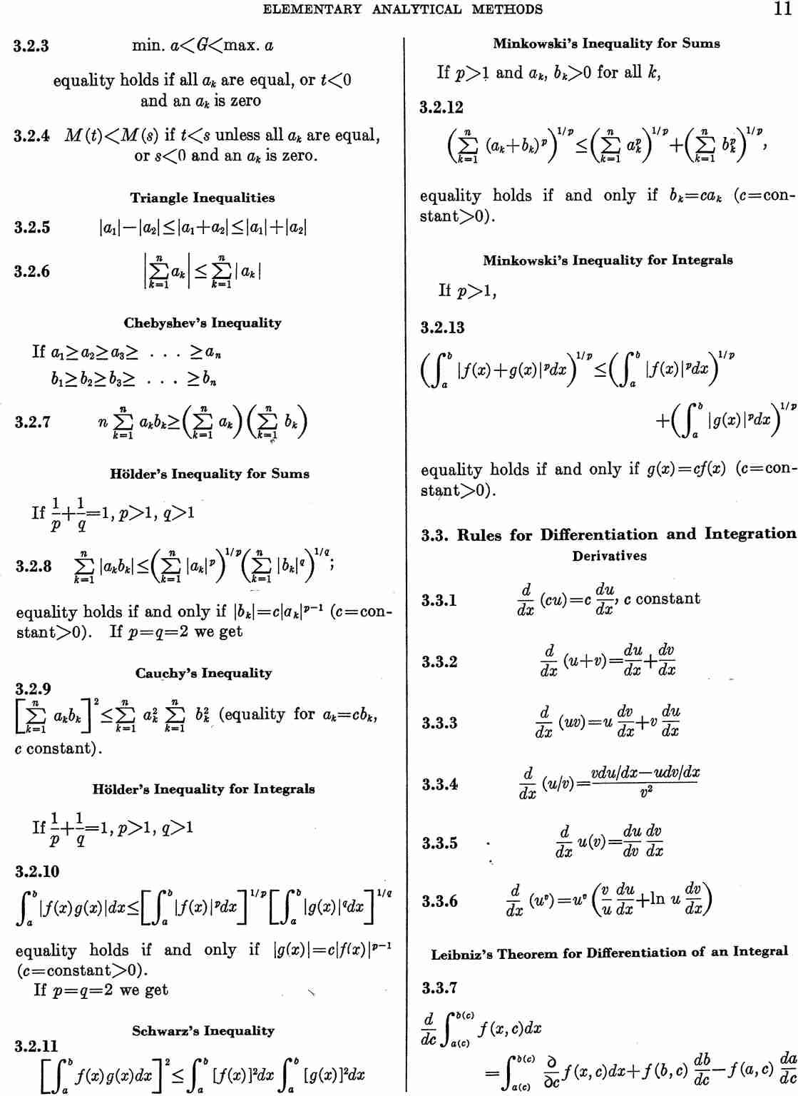 Abramowitz and Stegun. Page 11 Aands