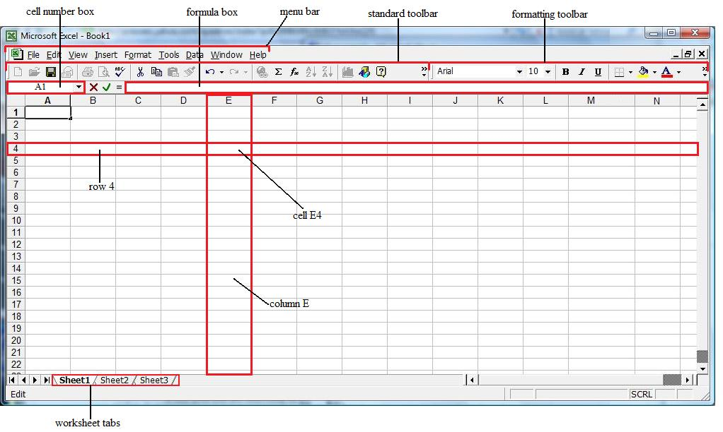Costanza piccolo in the image below the cell address of the cell resulting from the intersection of column e and row 4 is e4 cells can contain either text numbers ibookread Read Online